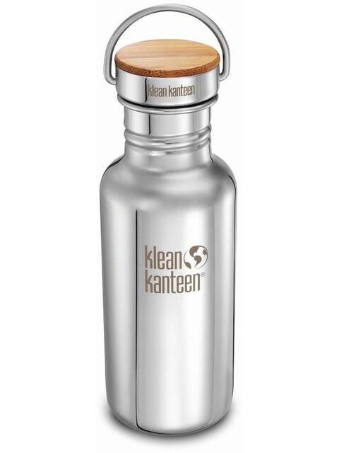 Klean Kanteen Reflect - Recipientes para bebidas - Bamboo Cap 532ml Plateado